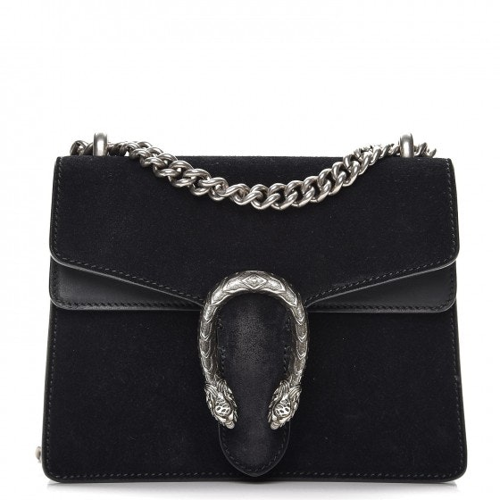 Gucci Dionysus Shoulder Mini Black