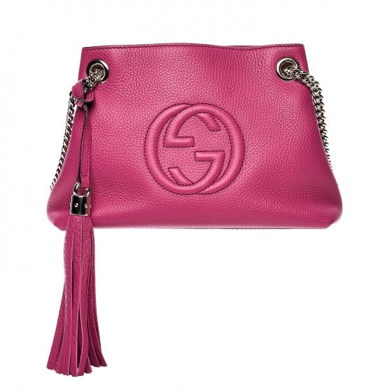 Gucci Soho Chain Shoulder Small Violet Magenta