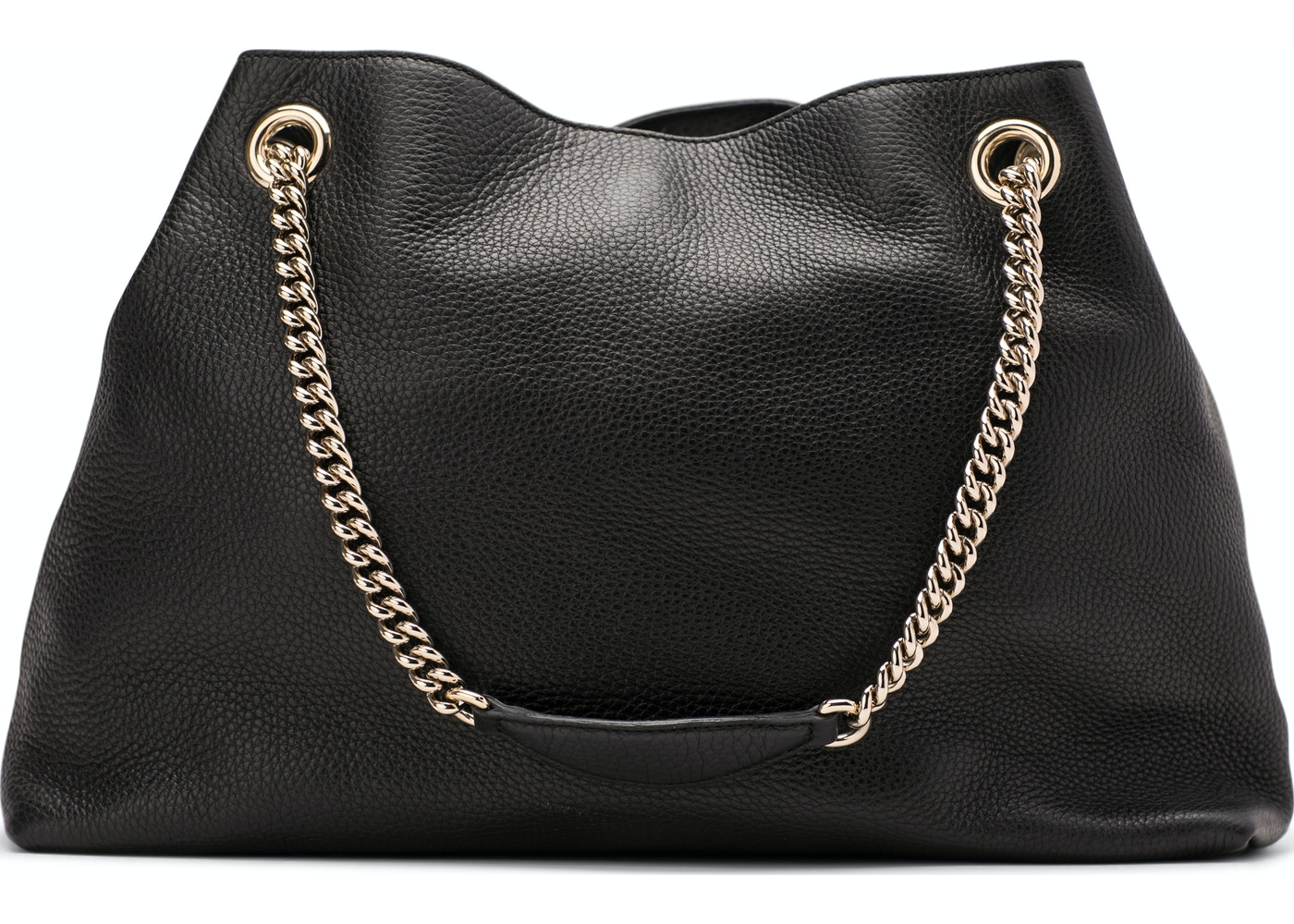 4e0d69aed47 Gucci Soho Shoulder Bag Chain Strap Medium Black