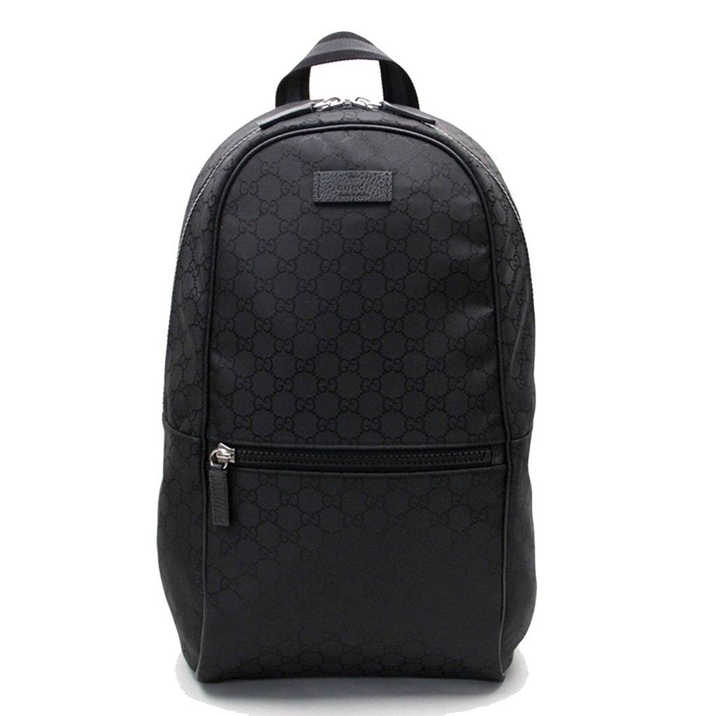 Gucci Slim Backpack GG Black