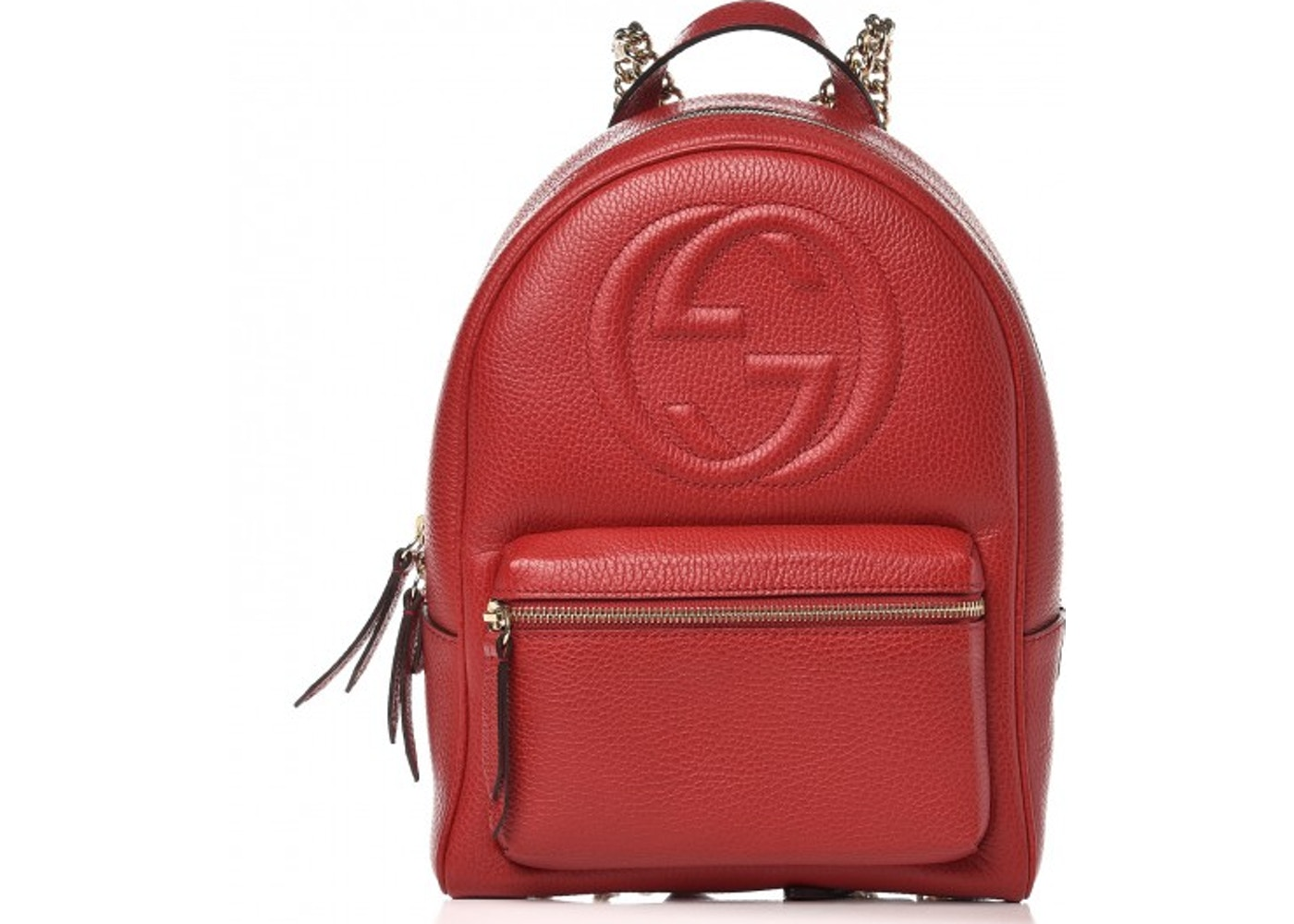 Gucci Soho Backpack Red