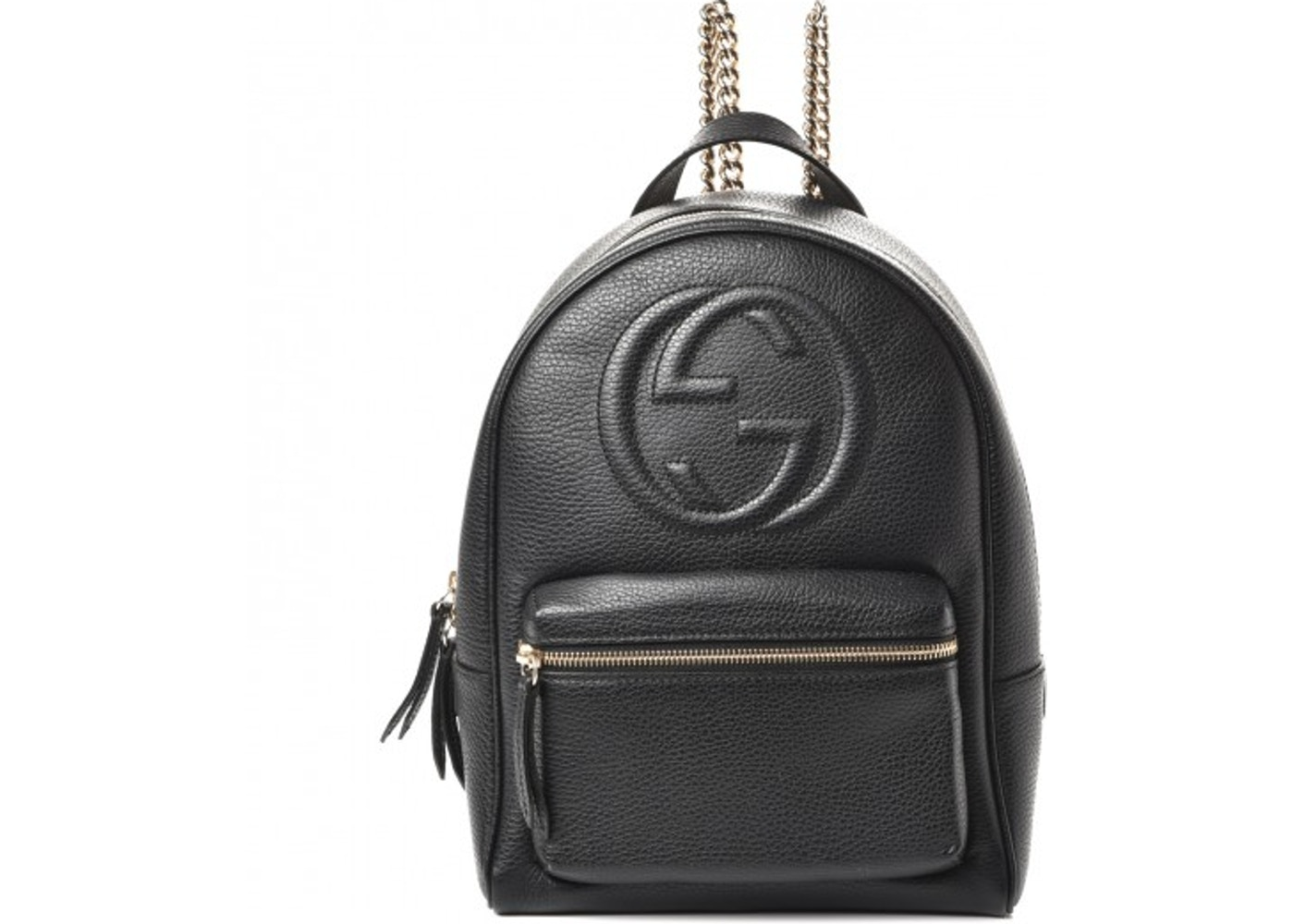 de872a96b Gucci Soho Chain Backpack Black. Black