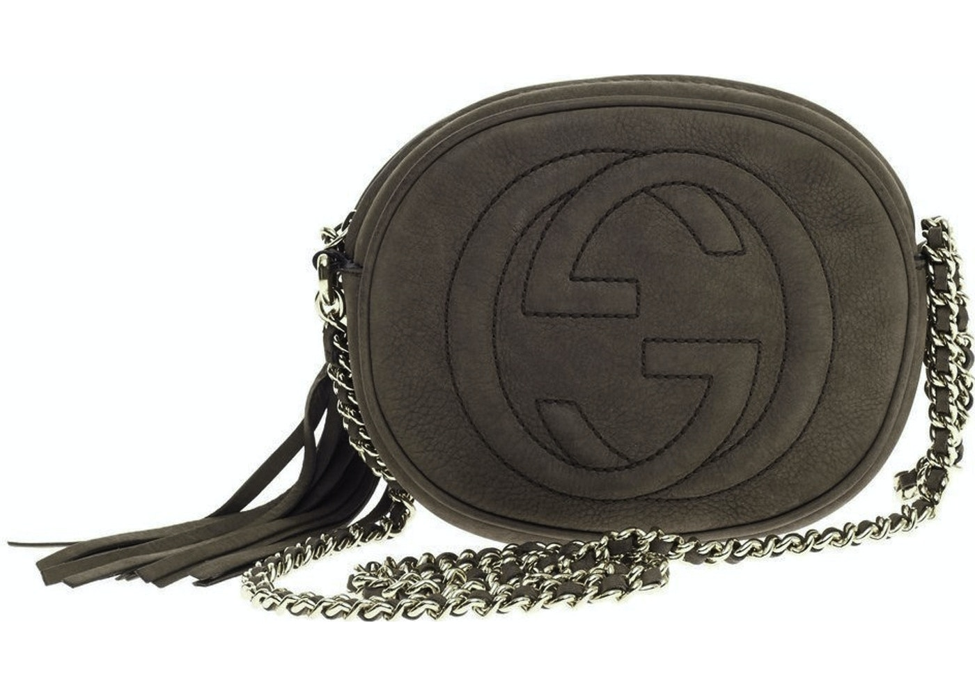 5a96e6cf896 Sell. or Ask. View All Bids. Gucci Soho Crossbody Chain Bag Mini Brown