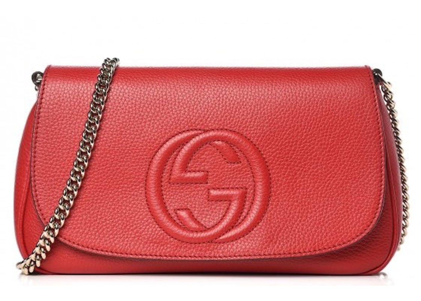 Gucci Crossbody Red