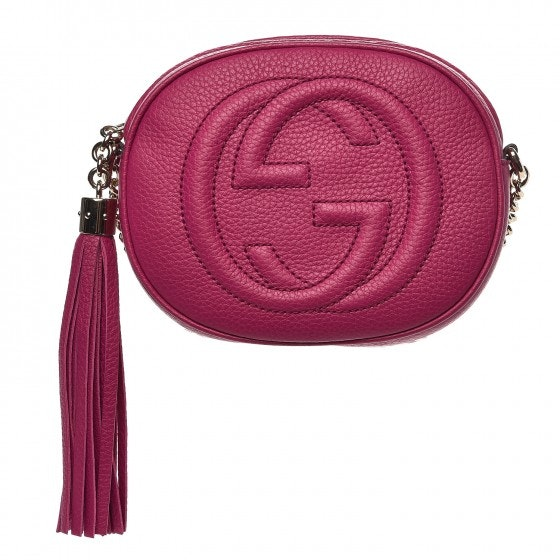 Gucci Soho Crossbody Mini Bright Bougainvillea