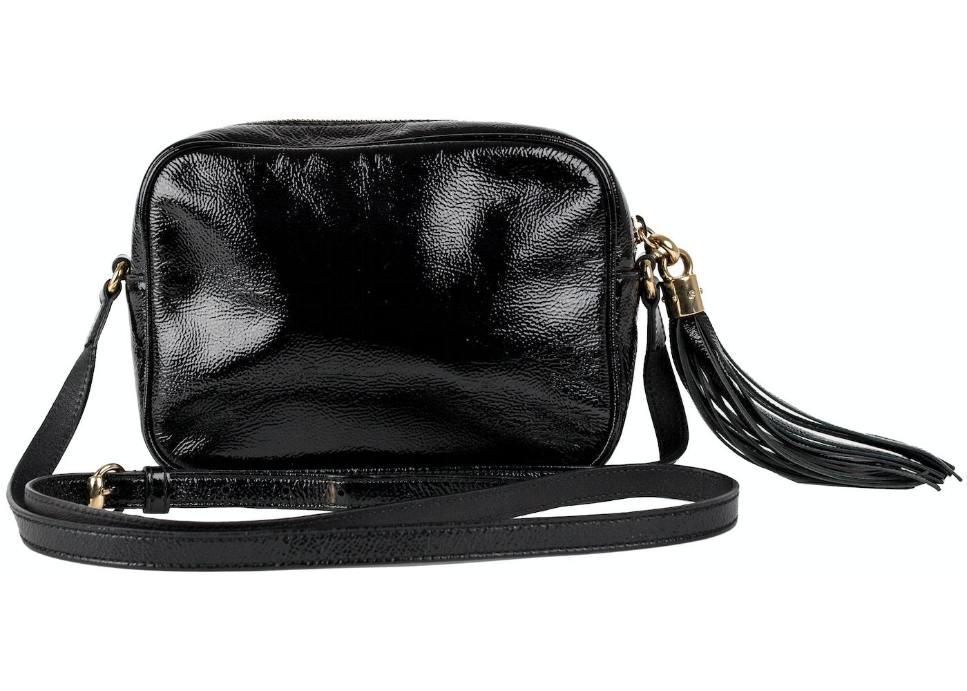 d3d9567d889 Gucci Patent Leather Soho Disco Black