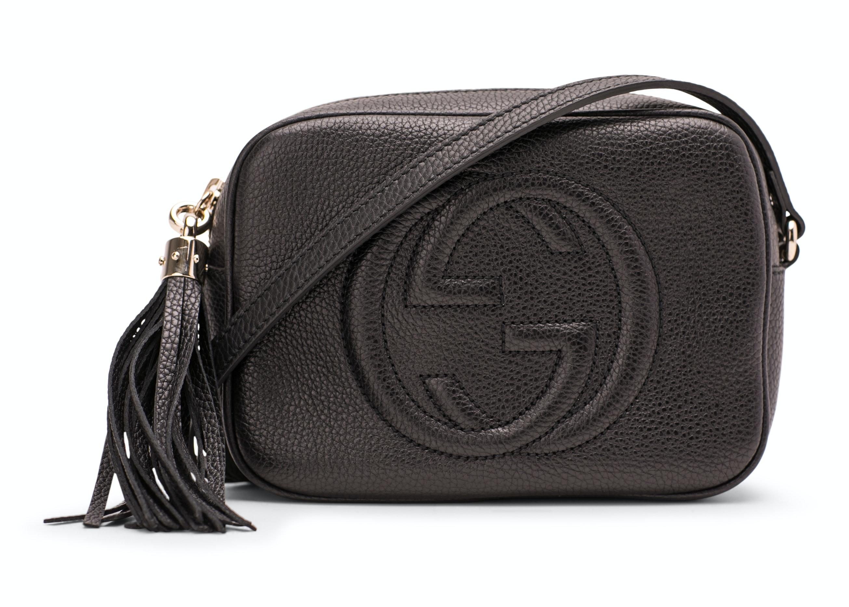 Leather Strap Small Black
