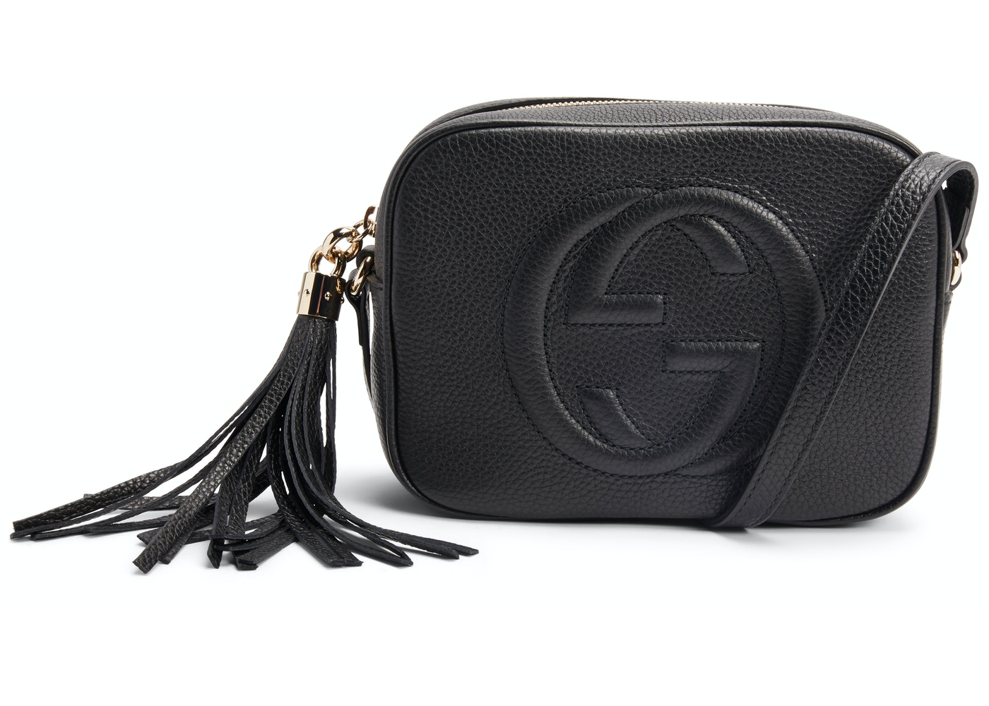 762d8807 Gucci Soho Disco Leather Small Black