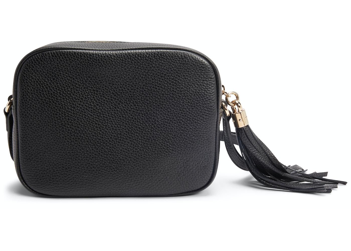 04cef7576785 Gucci Soho Disco Leather Small Black