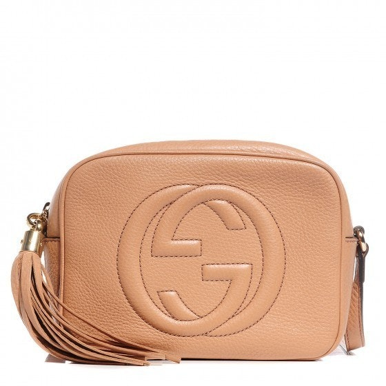 Gucci Soho Disco Crossbody Small Rose Beige