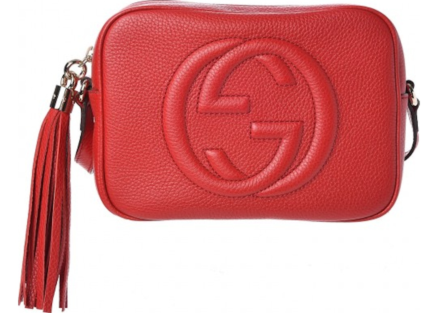 1c40c543e4712 Gucci Soho Disco Shoulder Bag Small Tabasco Red. Small Tabasco Red