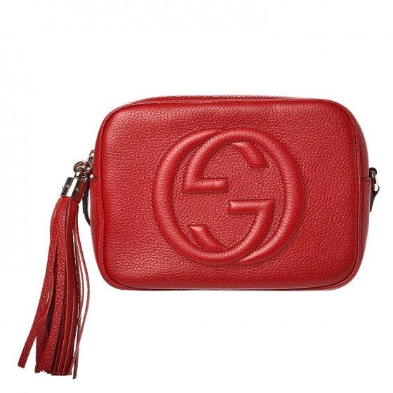 Gucci Soho Disco Small Vibrant Red
