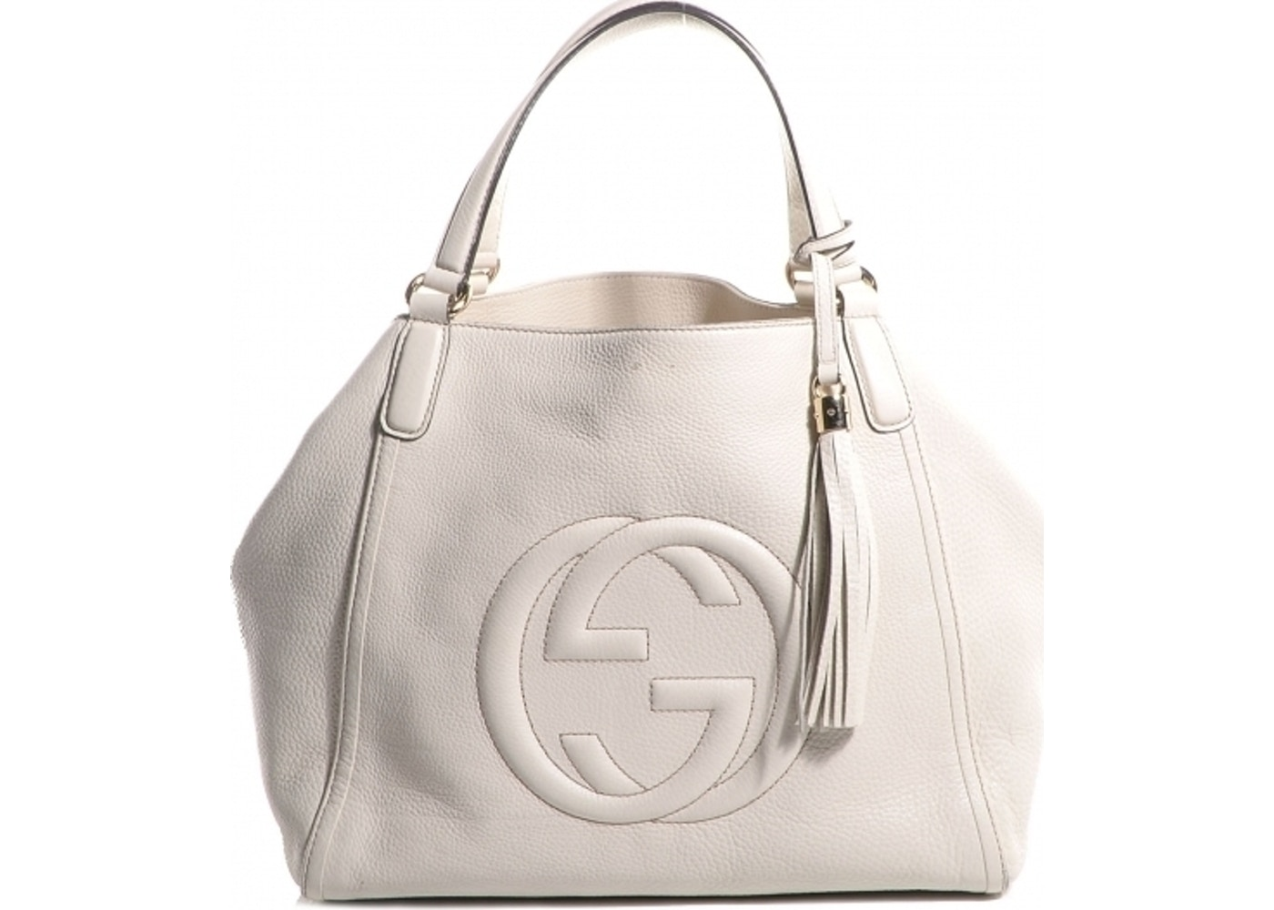 30017767dba0 Gucci Soho Tote Medium Off White. Medium Off White