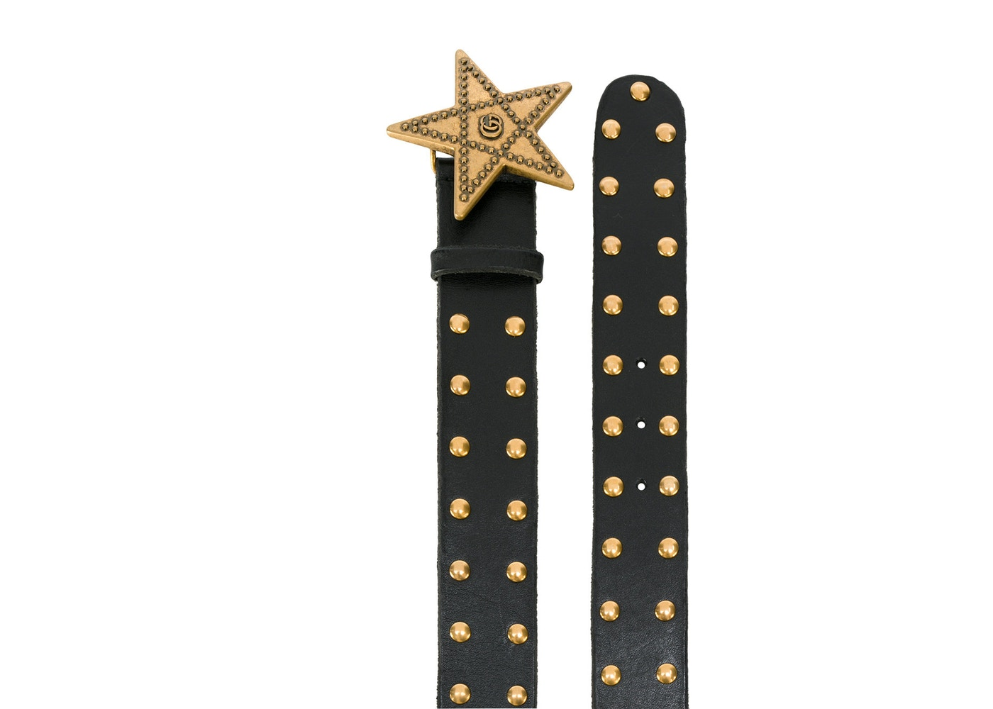 569c73c82f2 Gucci Star Studded Belt 65-20 Black