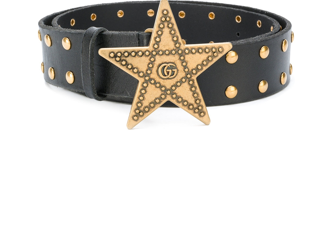 09c7b6e9f30 Gucci Star Studded Belt 65-20 Black. 65-20 Black