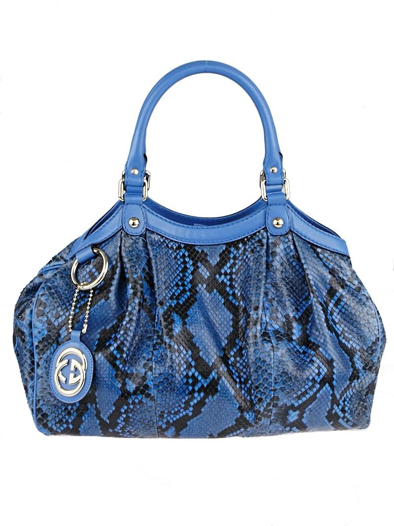 Gucci Sukey Tote Medium Blue