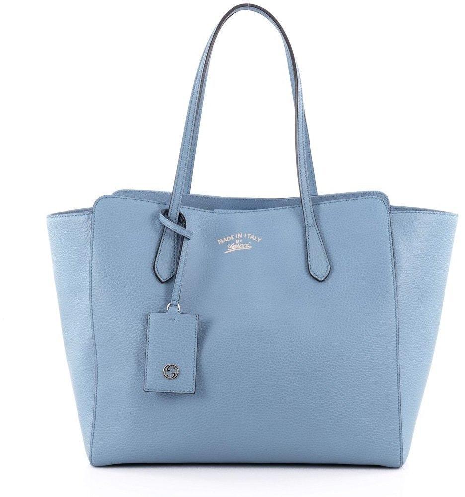 Gucci Swing Tote Medium Blue