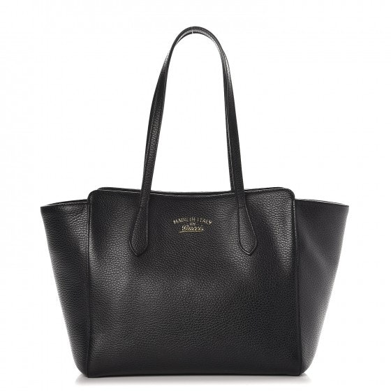 Gucci Swing Tote (Without Accessories) Small Black