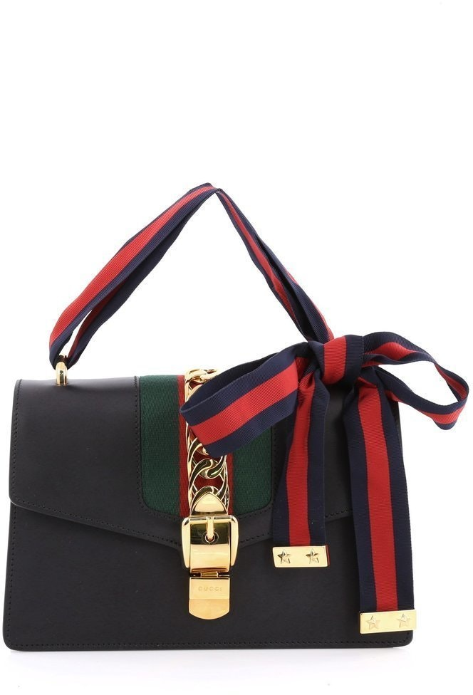 Gucci Sylvie Shoulder  Black