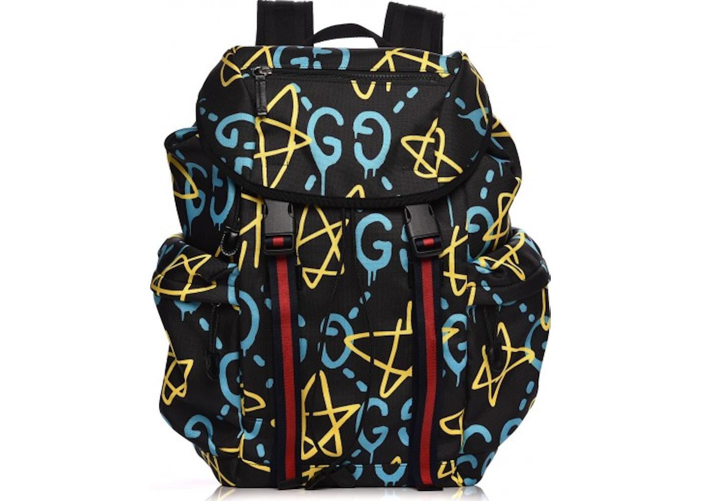 0e5e36ab2e9c4a Gucci Techpack Backpack GucciGhost. GucciGhost