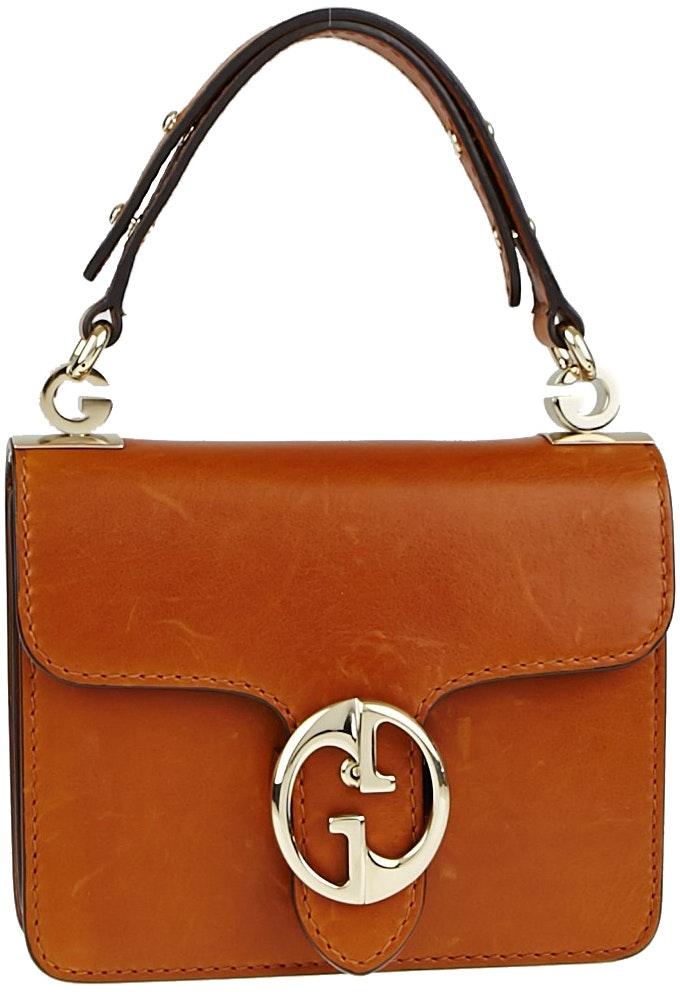 Gucci 1973 Top Handle Brown