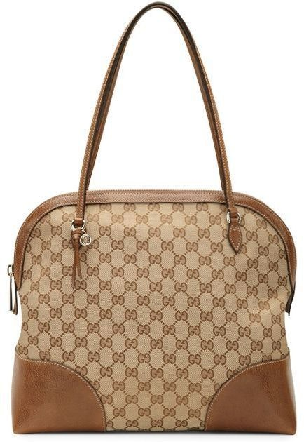 Gucci Top Handle Bree Oringinal GG Monogram GG Brown