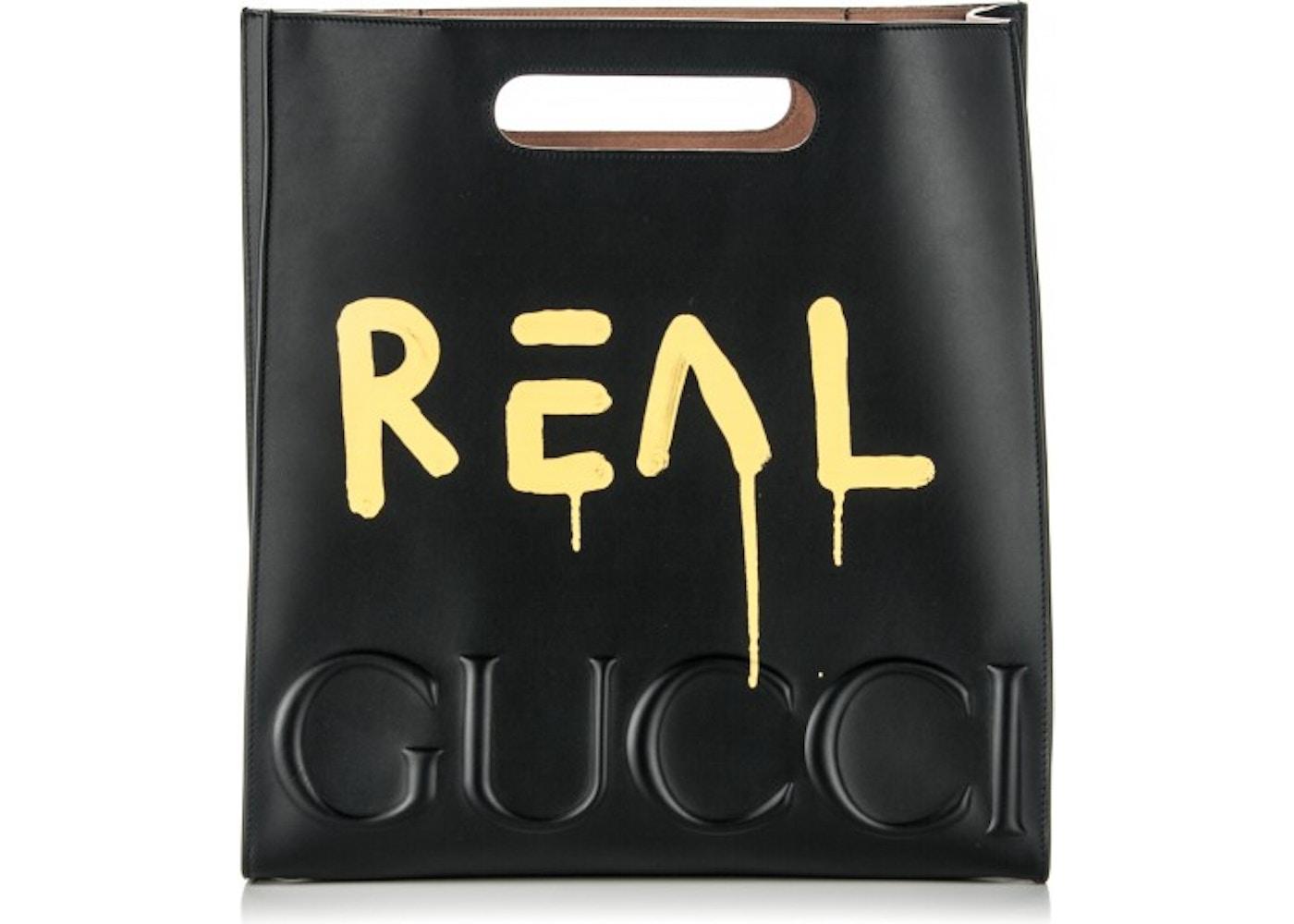 c451ef693271 Gucci GucciGhost XL Tote Embosed Medium. Embosed Medium