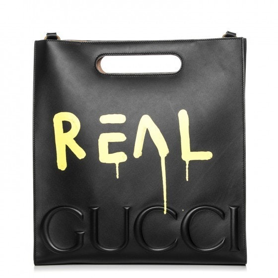 Gucci GucciGhost XL Tote Embosed Medium