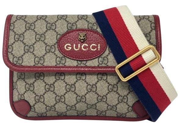 Gucci Totem Messenger GG Supreme Beige/Red