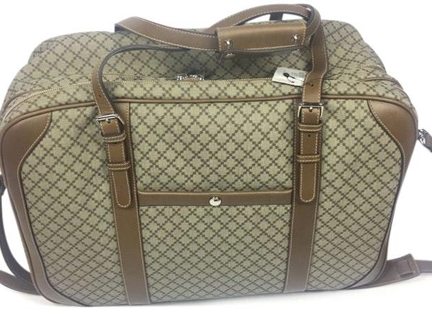 Gucci Travel Bag Diamante Plus Large Beige/Brown