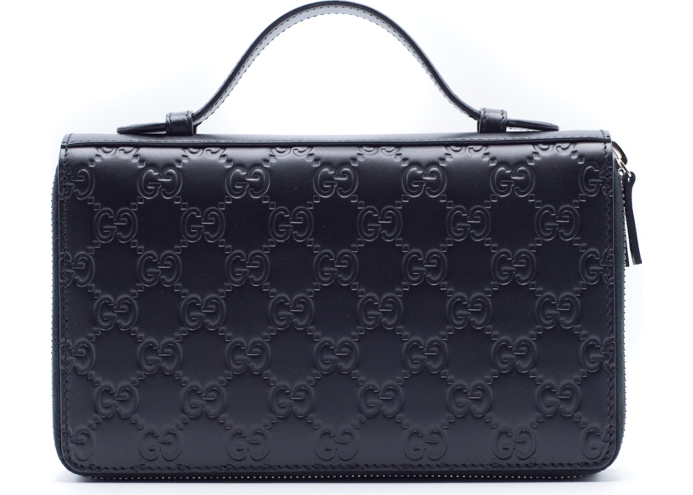 868b823f Sell. or Ask. View All Bids. Gucci Document Case Travel Bag Monogram GG  Embossed