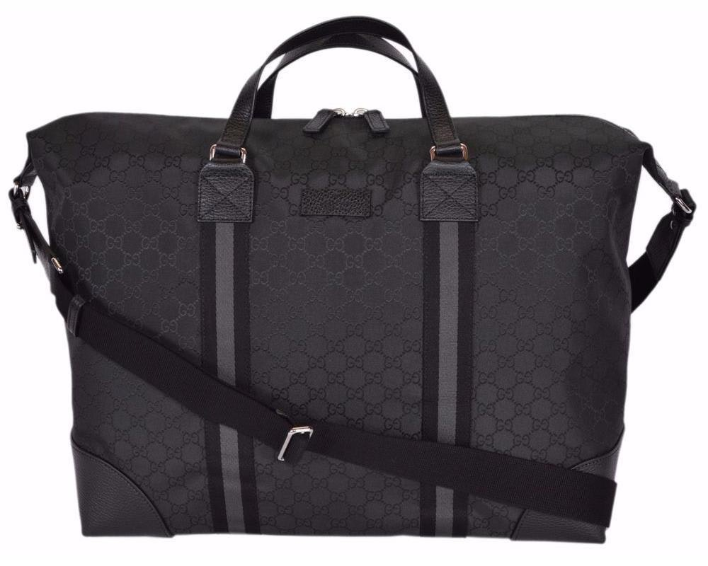 Gucci Travel Duffle Monogram GG Black