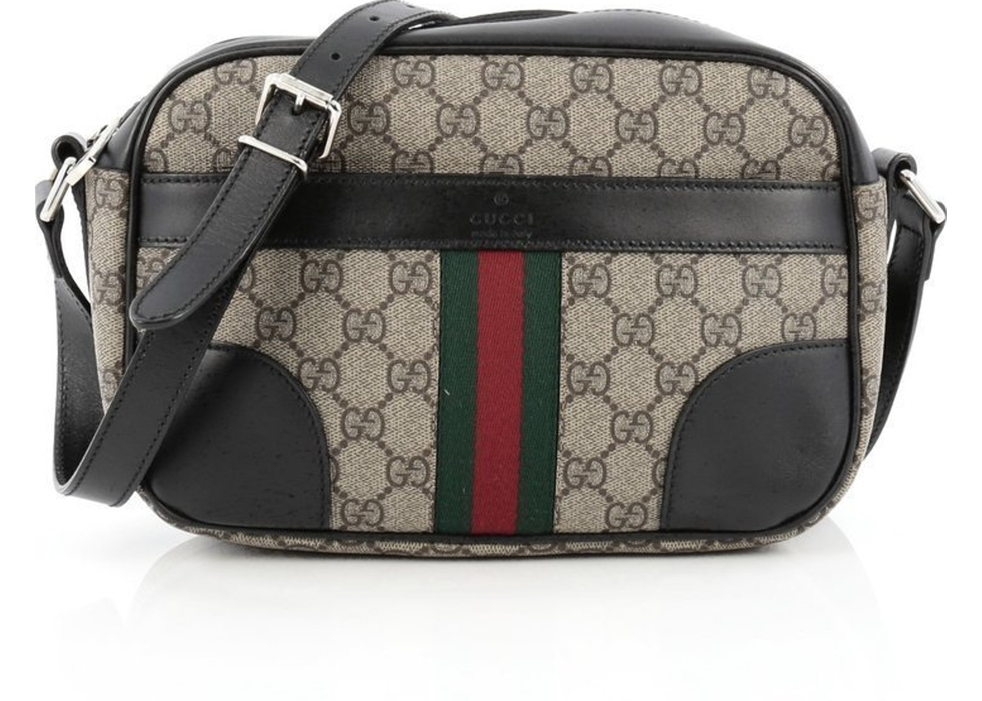 904af1fea858 Sell. or Ask. View All Bids. Gucci Vintage Web Camera Bag Crossbody GG ...