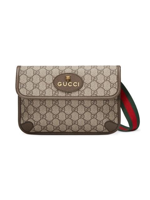 Gucci Waist Bag GG Supreme Beige/Ebony