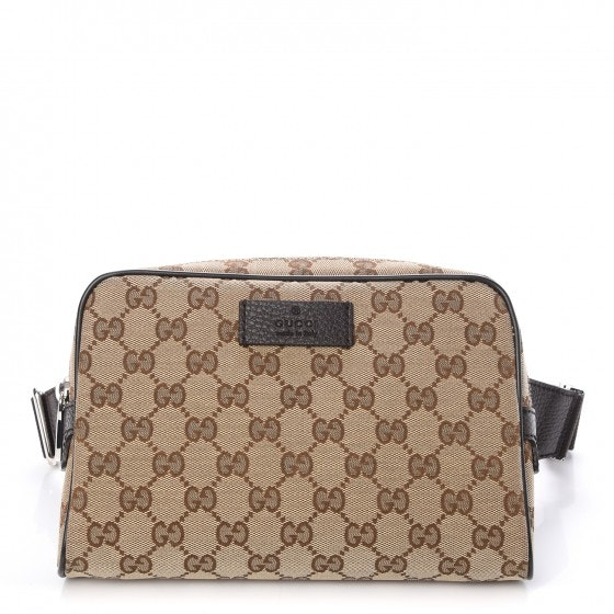 Gucci Waist Bag Monogram Beige/Ebony