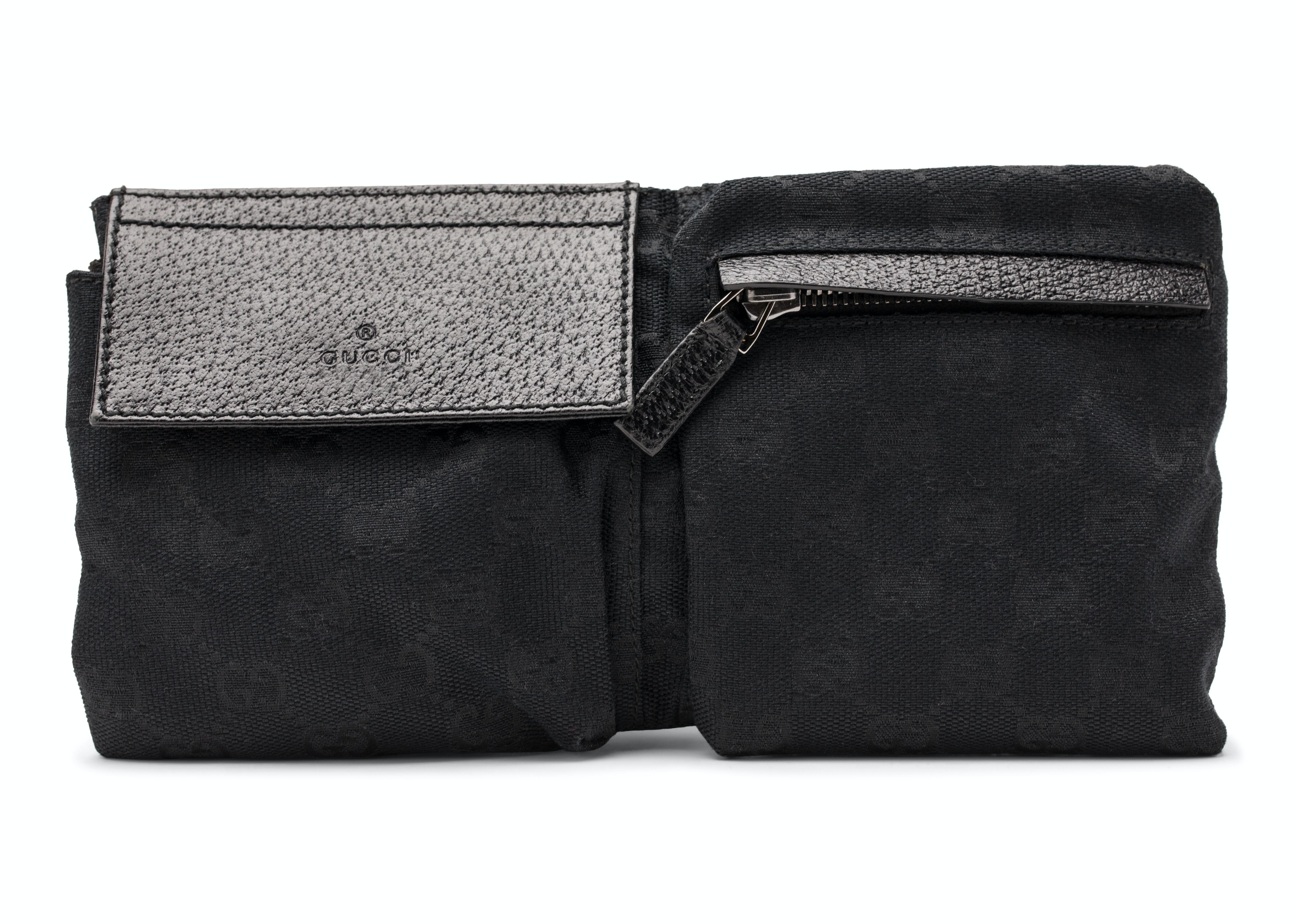 Gucci Waistbag Monogram GG Black