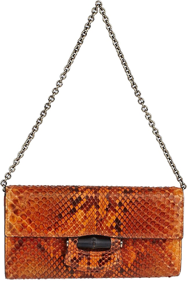 Gucci Wallet Orange