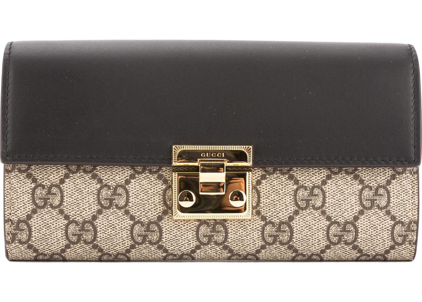 bda7ff4635a Sell. or Ask. View All Bids. Gucci Continental Padlock Wallet Monogram GG  Supreme