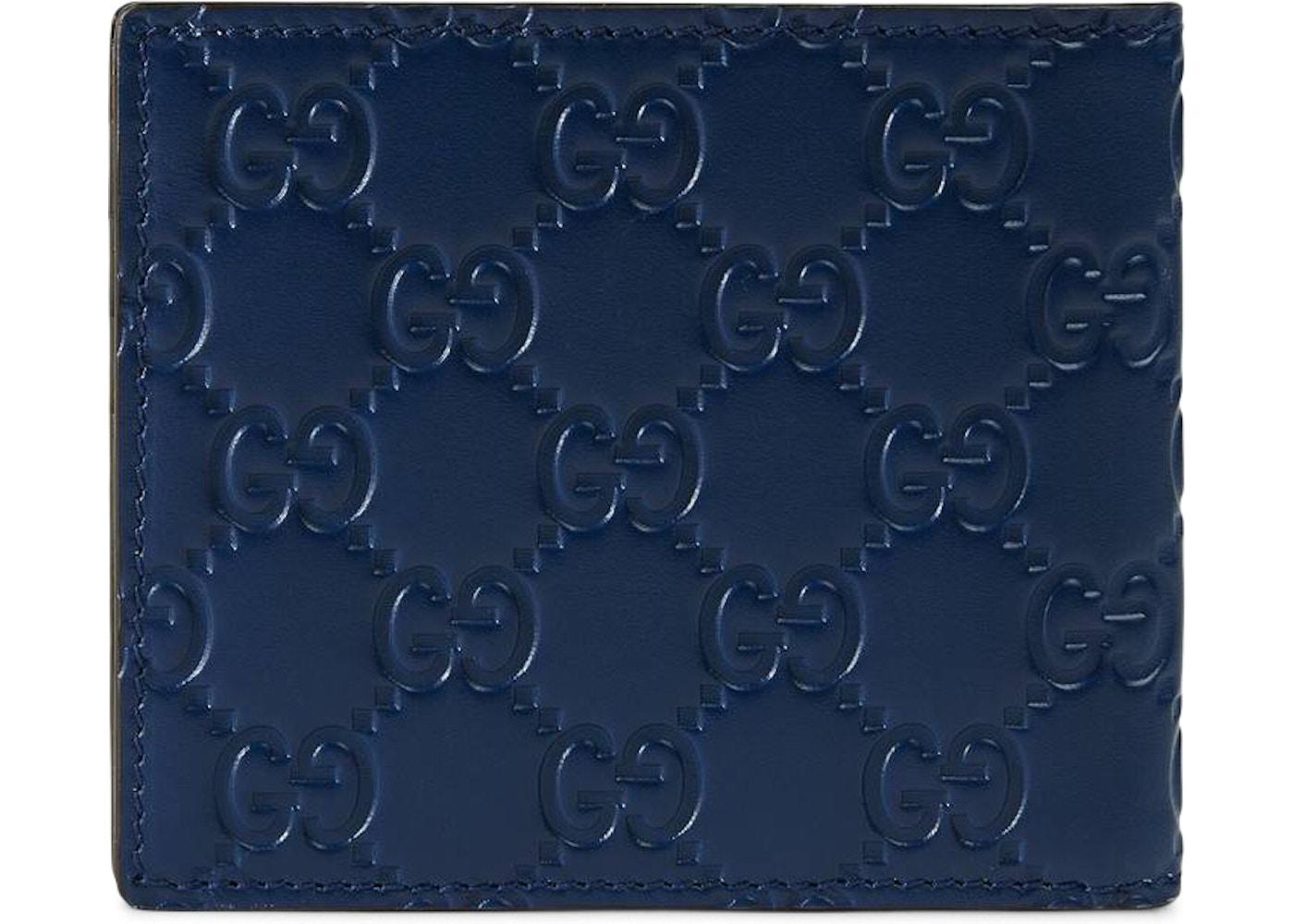 a6bcf01bc7ec Gucci Wallet NY Yankees Patch Royal Blue