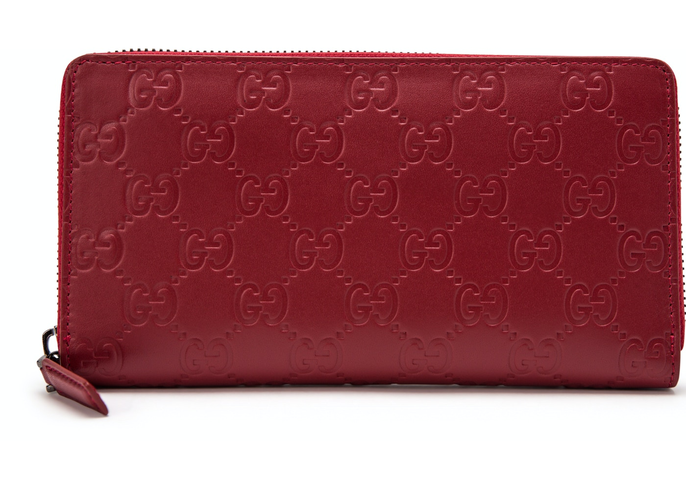 1e53ebc67572 Gucci Zip Around Wallet Signature Red. Signature Red