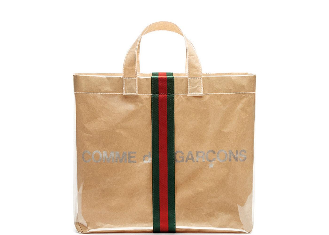 6f3695dfa Gucci x Comme des Garcons Tote Plastic Clear
