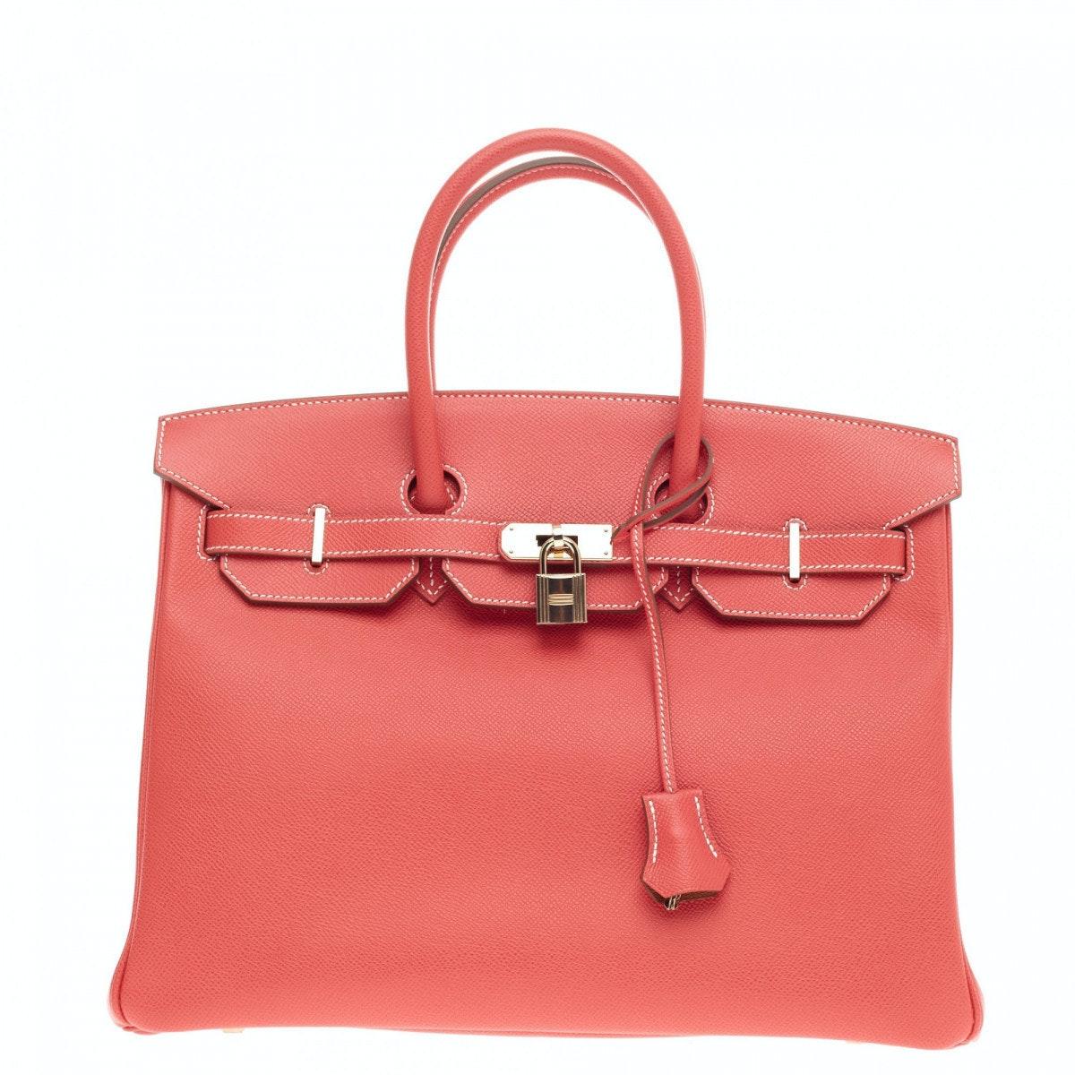 Hermes Birkin Candy Epsom 35 Rose Jaipur
