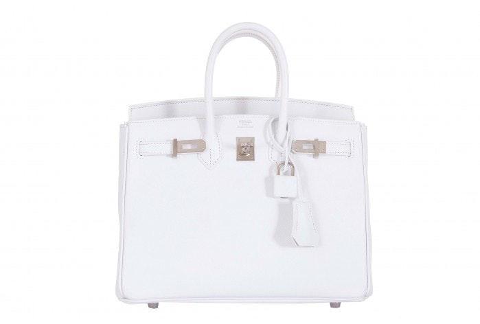 Hermes Birkin Epsom 25 White
