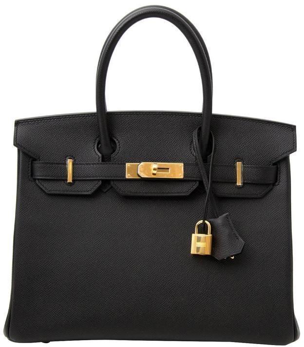 Hermes Birkin Epsom 30 Black