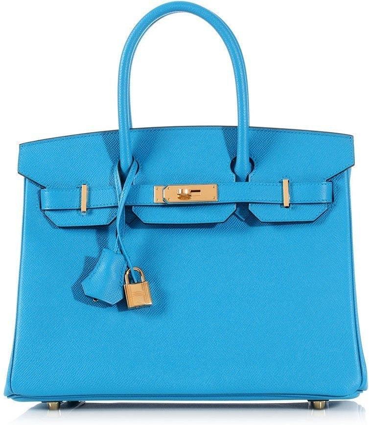 Hermes Birkin Epsom 30 Bleu Zanzibar