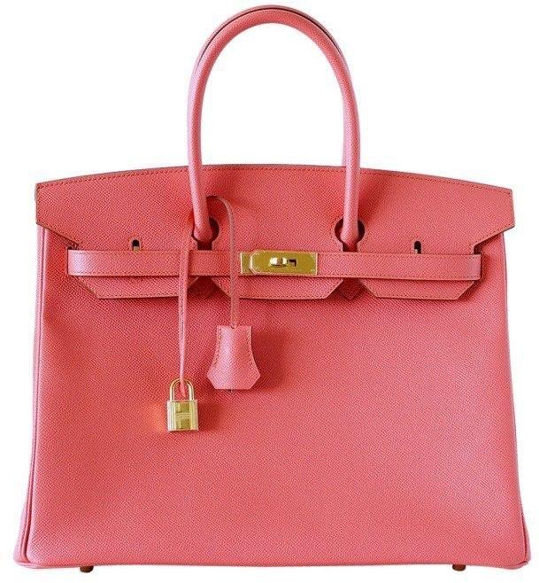 Hermes Birkin Epsom 35 Flamingo Pink
