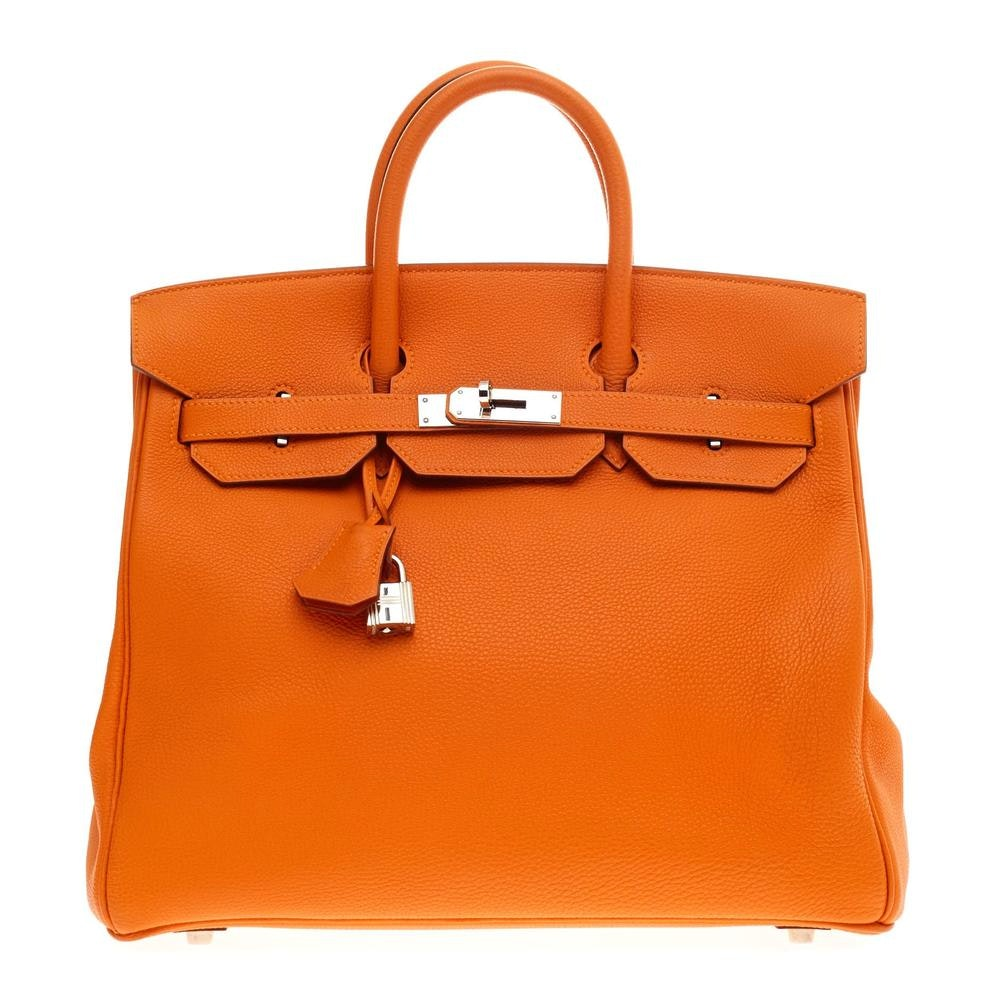 Hermes Birkin HAC Togo 32 Orange