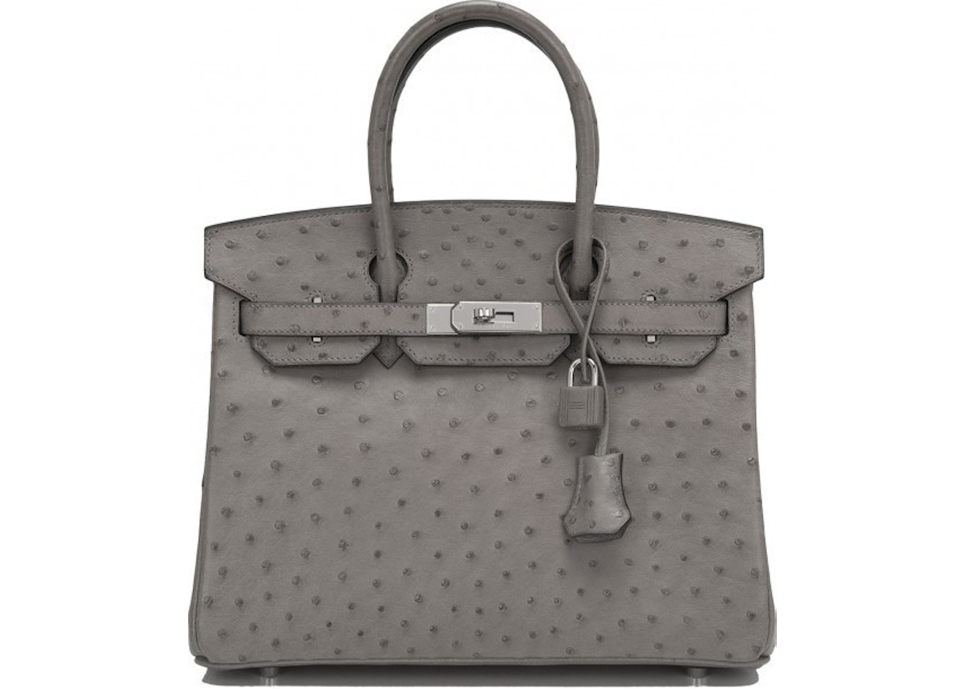 3b289ae044 Sell. or Ask. View All Bids. Hermes Birkin Ostrich 30 Gris Tourterelle