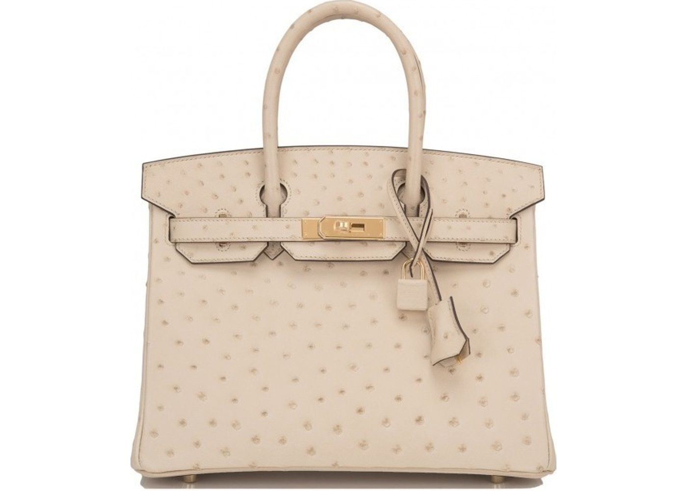 5bf2016e7f77 Sell. or Ask. View All Bids. Hermes Birkin Ostrich 30 Parchement