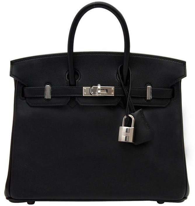Hermes Birkin Swift 25 Black